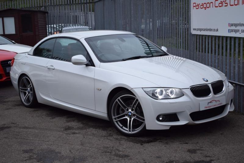 2011 BMW 3 Series 330 Convertible 3.0d 245 M Sport St6 Diesel white ...