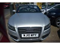 2010 10 AUDI A5 2.0TDi S LINE CONVERTIBLE GOOD AND BAD CREDIT FINANCE AVAILABLE