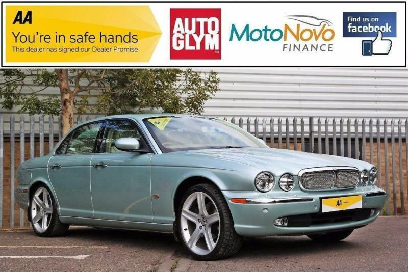 2006 Jaguar XJ 2.7 TDVi Sovereign 4dr Diesel silver Automatic