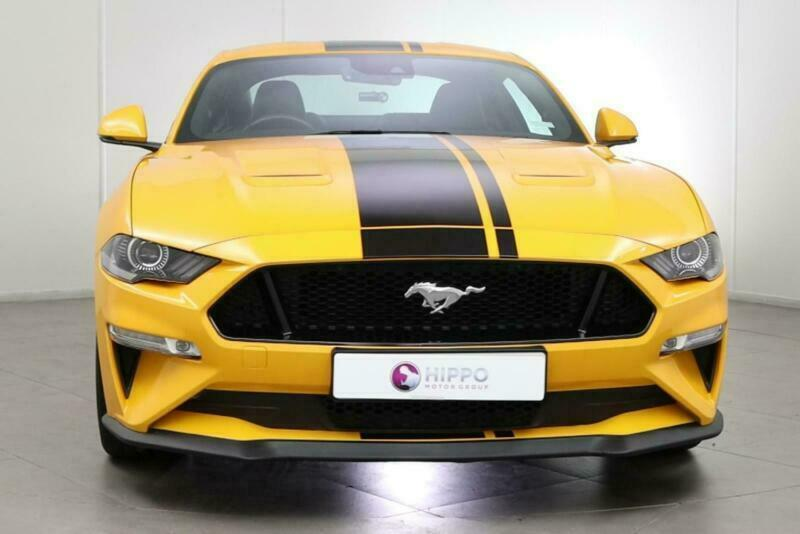 2018 Ford Mustang Gt Coupe Petrol Manual