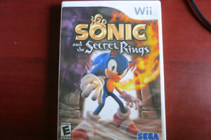 Jeu WII SONIC and the Secret Rings