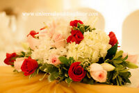 WEDDING DECOR & FLORAL ARRANGEMENT