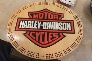 Harley Davidson crib board.