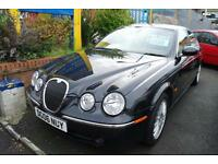 2006 Jaguar S-TYPE 2.7D V6 SE AUTOMATIC BEIGE LEATHER LOW MILEAGE MOT SAT NAV