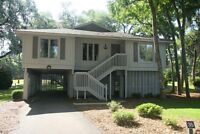 Hilton Head 3 bedroom home incl golf for 4.  Feb 28 and Mar 7 wk