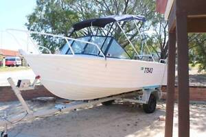 5.25 m aluminium Stacer Runabout for sale Spearwood Cockburn Area Preview
