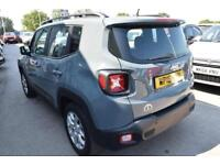 2016 Jeep Renegade 1.4 MultiAir II Longitude (s/s) 5dr Petrol grey Manual