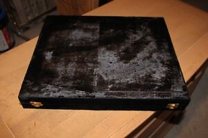 Brand New Metal Chess Pieces with Case for Sale