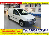 2009 - 59 - VOLKSWAGEN (VW) CADDY 2.0SDI 69PS VAN / VOLKSWAGON