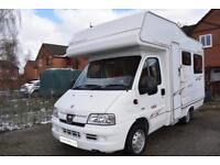 Elddis Autoquest 120 Four Berth Coachbuilt Motorhome for Sale U Lounnge 2900kg
