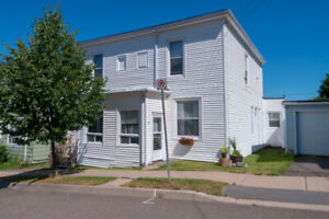 LARGE!  2/3 bed -1  bath duplex unit for rent :  Apr or May 1st