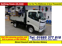 2010 - 10 - TOYOTA DYNA 300 3.0 D-4D TIPPER (GUIDE PRICE)