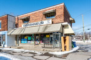 Commercial space for rent in Longueuil (Currently a depanneur).