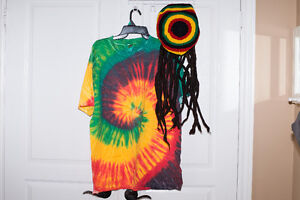 HALLOWEEN COSTUME: ADULTS JAMAICAN OUTFIT