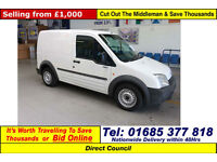 2003 - 53 - FORD TRANSIT CONNECT L200 1.8TD SWB VAN (GUIDE PRICE)