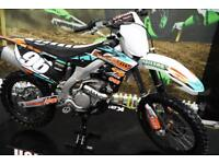 2015 KAWASAKI KXF 250 MOTOCROSS BIKE, GRIPPER SEAT