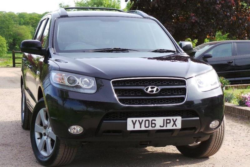 2006 Hyundai Santa Fe 2.7 V6 CDX 5dr