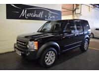 2007 07 LAND ROVER DISCOVERY 3 2.7 3 TDV6 XS 5D AUTO 188 BHP DIESEL