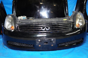 JDM Infiniti G35 Coupe Front End Conversion Body Parts 2003-2007