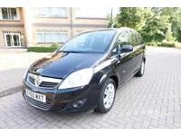 2010 Vauxhalll Zafira 1.7TD ( 108bhp ) Design 7 Seater Right Hand Drive RHD
