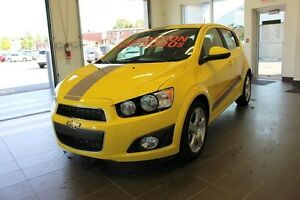 2015 Chevrolet Sonic WOW RABAIS INCLUS TURBO  LT TO