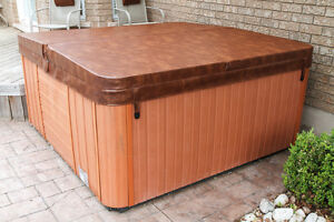 """Hot tub / spa cover 4"""" to 2"""" taper"""