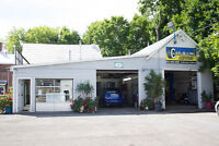 Fully Equipped car dealership / mechanic's bay