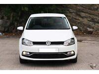 VW POLO HATCHBACK 5-DR 1.2 TSI SE (90 PS) TECH:SAT NAV, CRUISE CONTROL, FRONT & REAR PARKING SENSORS