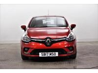 2017 Renault Clio DYNAMIQUE NAV Petrol red Manual