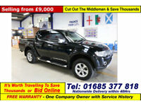 2013 - 63 - MITSUBISHI L200 WARRIOR 2.5DI-D DOUBLE CAB 4X4 PICKUP (GUIDE PRICE)