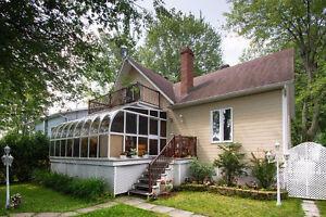 Grande maison au lac St-Pierre à Louiseville