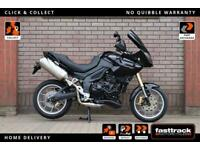 TRIUMPH TIGER 1050 2007 - PUIG TINTED SCREEN - SPOTLIGHTS - LOVELY CONDITION