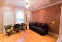 Sunny apartment in the heart of Mile End, semi-furnished