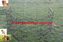 "30"" 76cmH 8panel Dog Playpen penCage Crate Enclosure Rabbit fence Oakleigh Monash Area Preview"
