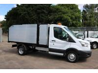 16 Ford Transit Tipper Waste Clearance Arb Tree Surgeon Maintenance