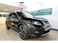 Nissan X-Trail 1.6 DCi 130 Tekna 2WD [2X NISSAN SERVICES, SAT NAV, LEATHER, PANO