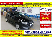 2013 - 62 - VOLKSWAGEN POLO BLUEMOTION 1.2TDI 5 DOOR HATCHBACK (GUIDE PRICE)