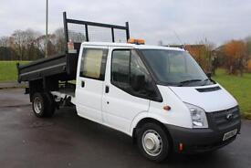 Ford Transit D/C Tipper Truck 14 Reg Low mileage £12,995 + VAT