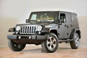 2017 Jeep WRANGLER UNLIMITED Sahara CUIR NAV ALPINE COLORMATCH
