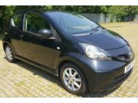 2006 Toyota AYGO 1.0 VVT-i Black MOT -04/2018 2 keys Band B (£20)