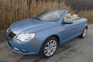 PRICE REDUCED, make an offer - 2010 Volkswagen EOS Convertible