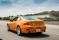 2004 BMW 6-Series Stratus Grey, Cream Leather, Coupe (2 door)