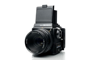 Bronica SQ 120 6x6 Medium Format Camera /w 80mm & 50mm