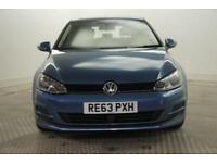 2013 Volkswagen Golf SE TDI BLUEMOTION TECHNOLOGY DSG Diesel blue Semi Auto