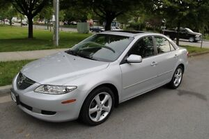 2004 Mazda 6 GT-V6, Original Owner, BC car, No accidents, Silver