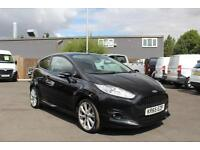 "Ford Fiesta 1.6TDCi 95PS Sport in Black + A/C, 17"" Alloy Upgrade - Online"