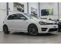 VW Golf R DSG, 14 Reg, 29k, Oryx White, Massive Spec, Nav, Carbon Lth, £40k+ New