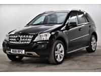 2011 Mercedes-Benz M Class ML350 CDI BLUEEFFICIENCY SPORT Diesel black Automatic