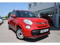 2014 Fiat 500L 1.4 Pop Star 5dr Petrol red Manual