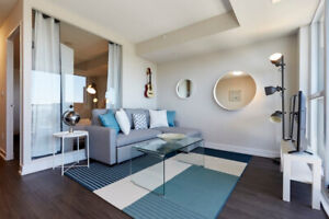 DOWNTOWN Toronto modern, new fully FURNISHED apartment. MUST SEE